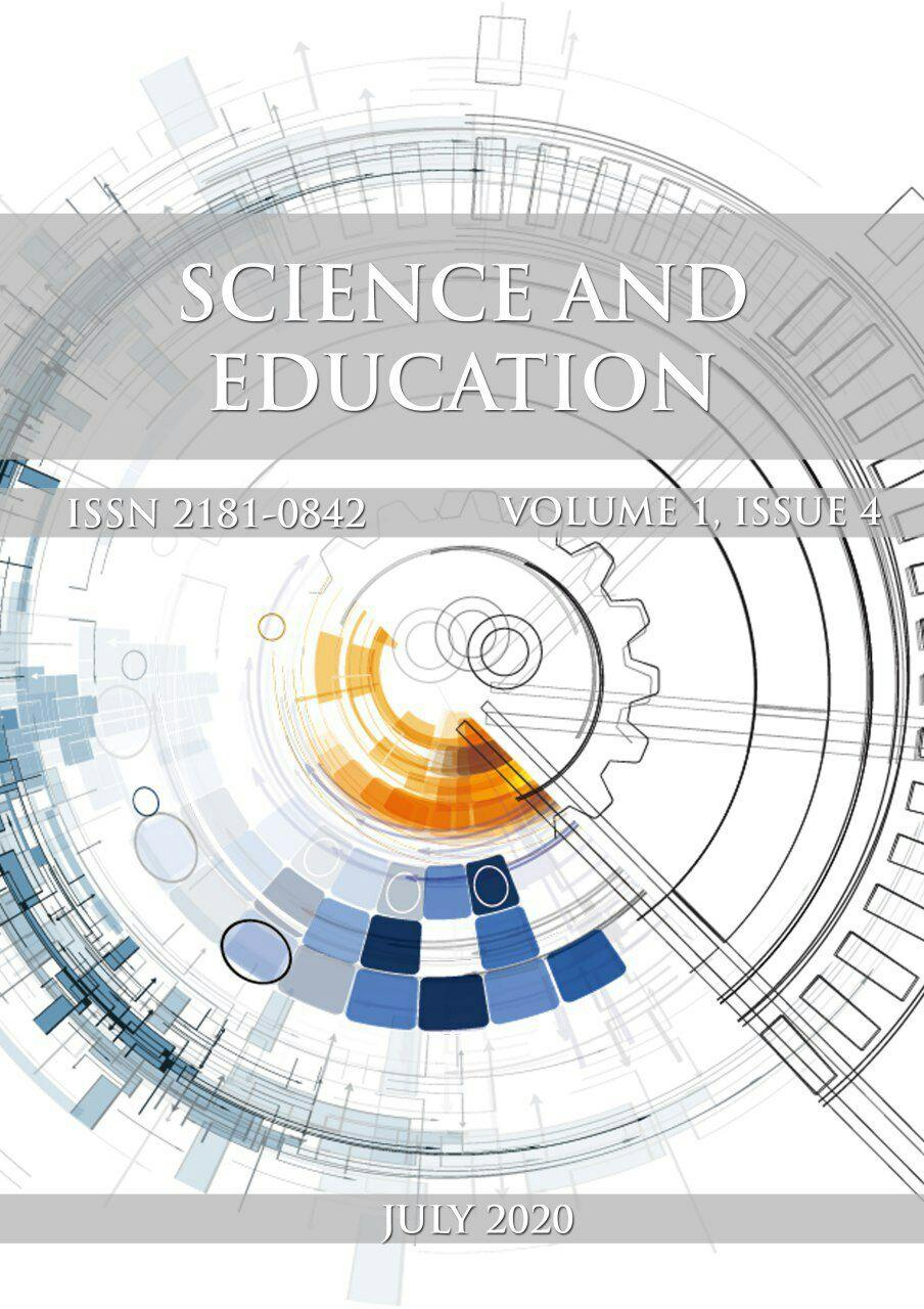View Vol. 1 No. 4 (2020): Science and Education